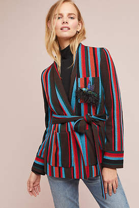 Beatrice. B Capalbio Striped Sweater Jacket
