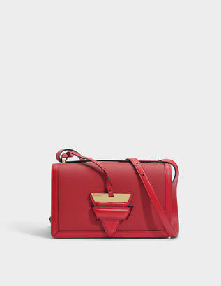 Loewe Barcelona Bag in Red Soft Grained Calfskin