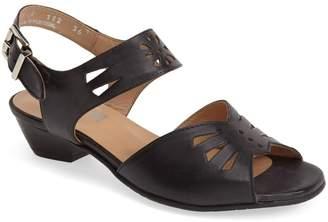 Fidji 'V112' Perforated Leather Sandal