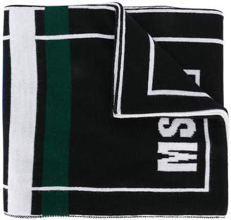 MSGM logo knit scarf