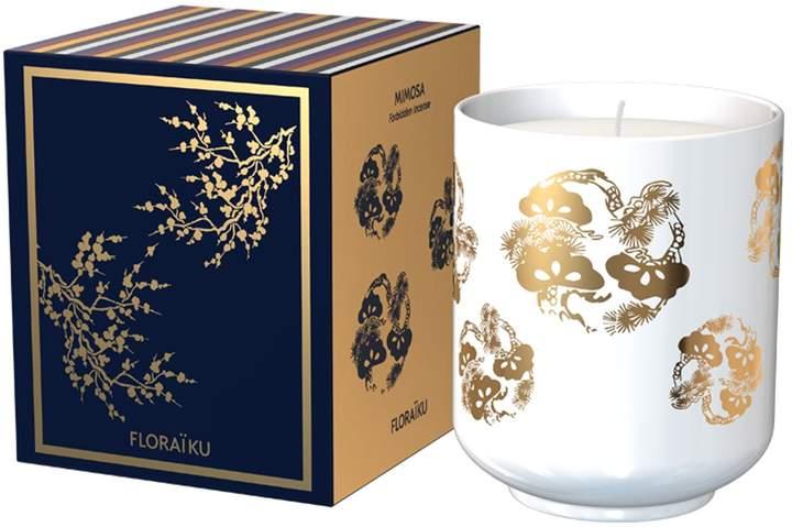 Floraiku Mimosa Tea Cup Candle