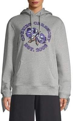 Opening Ceremony Floral Logo Sweatshirt
