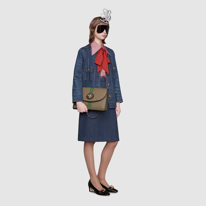 882ae76d3bd1 Gucci Rajah GG medium shoulder bag - ShopStyle Clutches