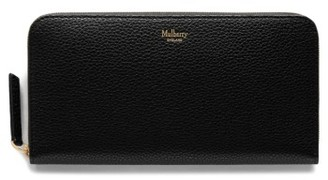 Women's Mulberry Zip Around Leather Wallet - Black $385 thestylecure.com