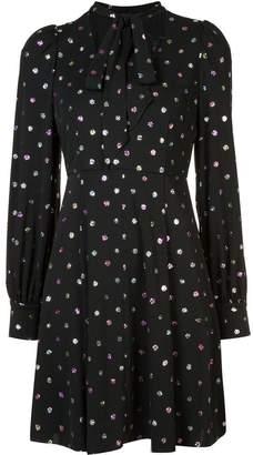 Marc Jacobs polka dot shift dress