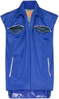 Y/Project Y / Project double-layer front pocket gilet