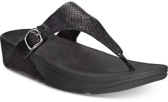 FitFlop The Skinny Wedge Sandals Women's Shoes