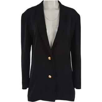 Gucci Black Silk Jackets