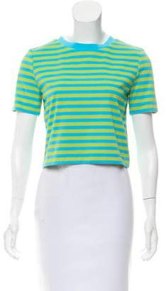 MICHAEL Michael Kors Striped Short Sleeve Top w/ Tags