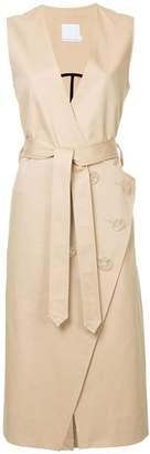 CHRISTOPHER ESBER belted wrap dress