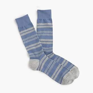 J.Crew Mixed stripe socks