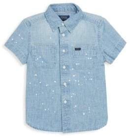 Ralph Lauren Toddler's, Little Boy's& Boy's Chambray Workshirt
