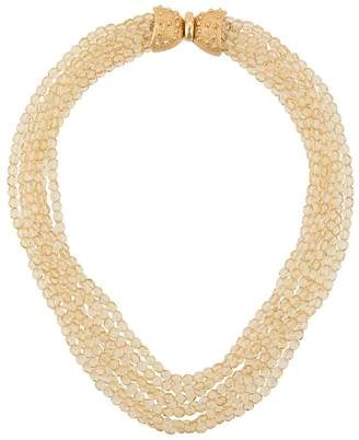 Valentino Pre-Owned beaded necklace