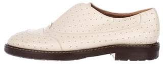 Marni Perforated Leather Oxfords