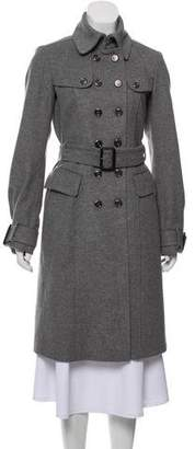 Burberry Wool & Cashmere-Blend Coat