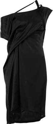 Ann Demeulemeester draped shift dress