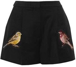 Stella McCartney Embellished Wool Shorts