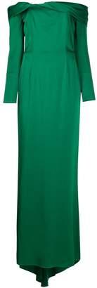 Paule Ka off-the-shoulder gown