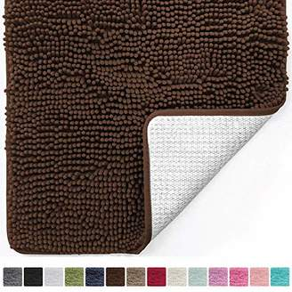 Gorilla Grip Original Luxury Chenille Bathroom Rug Mat (44 x 26)