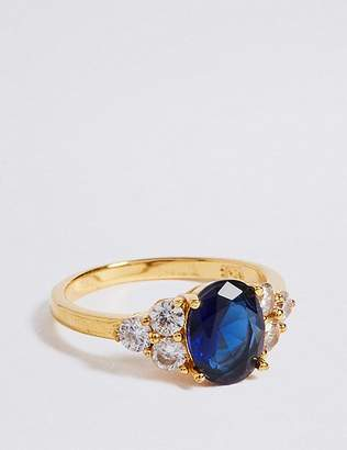 Marks and Spencer Gold Plated Shoulder Stone Ring