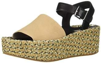 Kenneth Cole New York Women's Danton Platform Espadrille Wedge Sandal