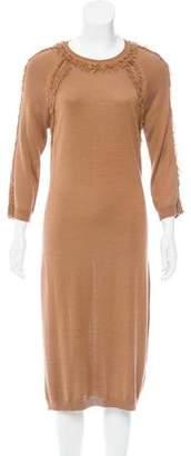 Nina Ricci Silk Midi Dress w/ Tags