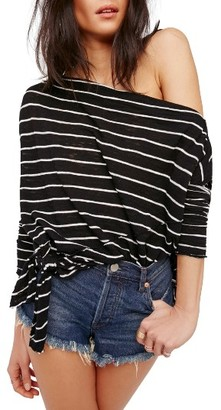 Women's Free People Love Lane One-Shoulder Tee $68 thestylecure.com