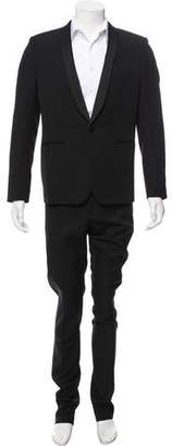 Saint Laurent Virgin Wool Two-Piece Tuxedo
