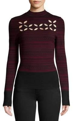 Bailey 44 Printed Mockneck Sweater