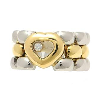 Chopard Happy Diamonds Silver Yellow gold Ring