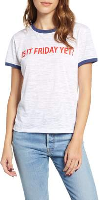 PRINCE PETER Is It Friday Yet Ringer Tee