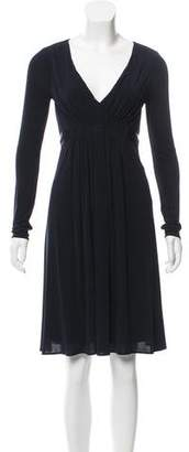 BCBGMAXAZRIA Jersey Knit Knee-Length Dress