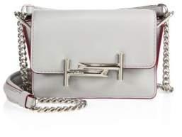 Tod's Double T Mini Leather& Chain Shoulder Bag