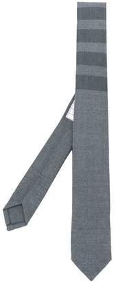 Thom Browne Classic 4-Bar Tie