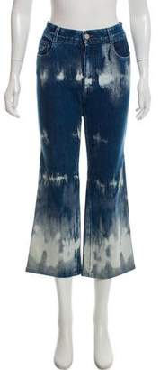 Stella McCartney Acid Wash Mid-Rise Jeans