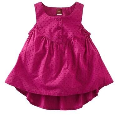 Tea Collection Swiss Dot Sleeveless Tunic (Toddler Girls, Little Girls & Big Girls)