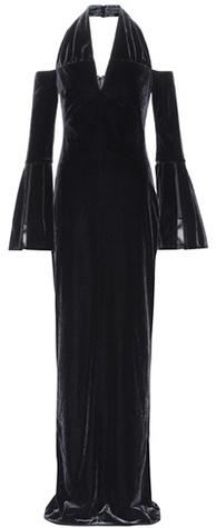 Tom Ford Halterneck velvet gown