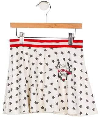 MonnaLisa Girls' Star Print Skirt