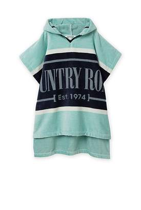 Country Road Heritage Stripe Poncho