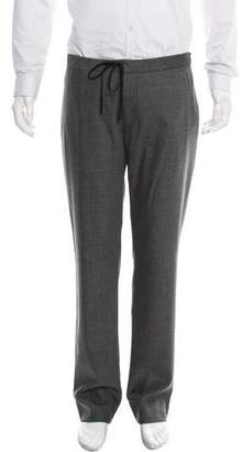 Maison Margiela Virgin Wool Slim-Fit Pants