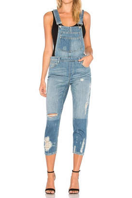 Blank NYC BlankNYC Distressed Boyfriend Overalls