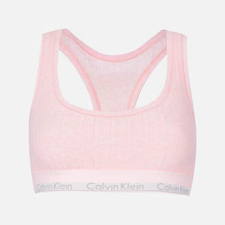 Calvin Klein Women's Unlined Bralette - Nymph's Heather