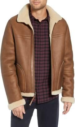Vince Reversible Genuine Shearling Jacket