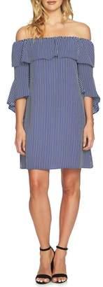 CeCe Off the Shoulder Shift Dress