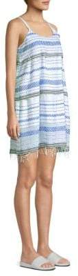 Lemlem Tiki Stripe Shift Dress