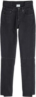 Vetements Deconstructed Skinny Jeans