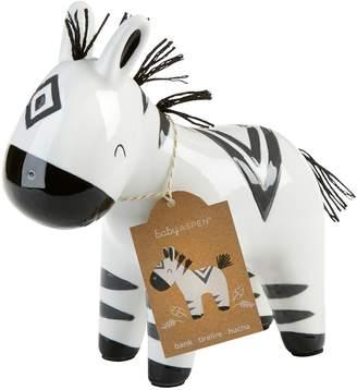 Baby Aspen Zebra Ceramic Bank