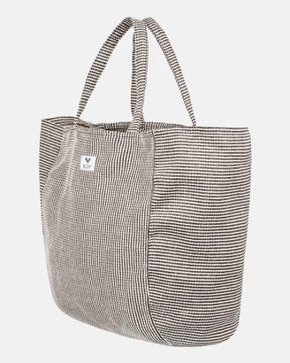 Roxy Time Is Now Large Canvas Tote Bag