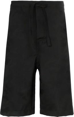 Comme des Garcons Camo print jacquard shorts