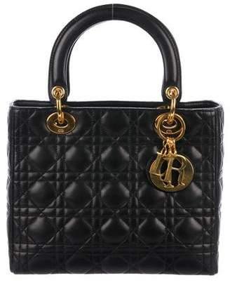 Christian Dior Medium Lady Bag